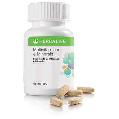 Multivitaminas e Minerais Herbalife em Santos