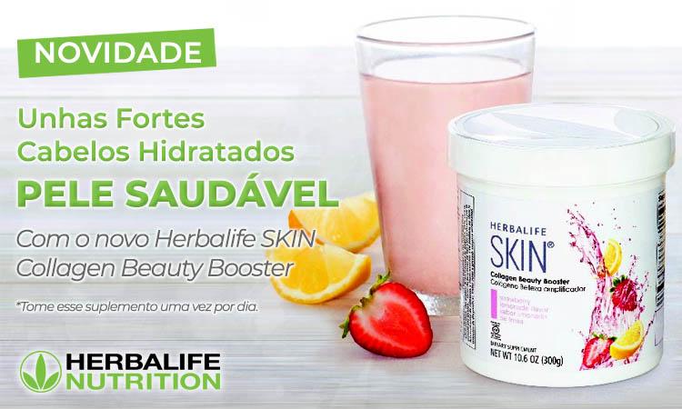 Beauty Drink Colágeno Herbalife em Santos